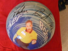 Parker Bohn III Signed/autographed Picture bowling ball
