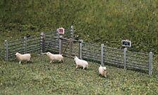 Ratio 419 Concrete Fence Posts & Gates '00' Plastic Kit