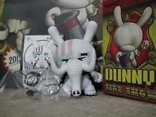"""◆Kidrobot 2013 Side Show DUNNY 3"""" JPK Jon-Paul Kaiser Patriotic Rocket Locodonta"""