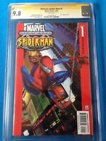 Ultimate Spider-Man #1 - Marvel - CGC SS 9.8 NM/MT - Signed by Mark Bagley