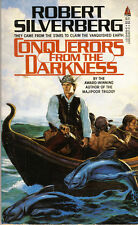 Robert Silverberg CONQUERORS FROM THE DARKNESS pbk NEW