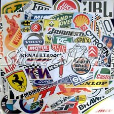 25+ Car Race WRC Formula 1 F1 Racing etc Clearance & 2nd Quality Stickers Decals