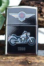 Zippo Lighter - Harley Davidson - 1990 FLSTF Softail Fat Boy - 250 01-19027-011