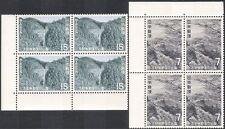 GIAPPONE 1970 LADY Yoshino-Kumano Park/CASCATA/alberi/Blossom/CADE 2 V Set dei blocchi della n28375
