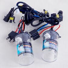 2X Car HID Headlight Light H4-2 6000K 35W Bulbs Lamp Low-Xenon Hi-Halogen #01-6K