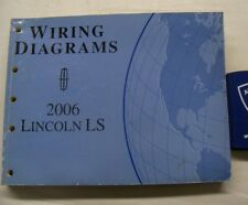 2006 Ford Lincoln Ls Service Wiring Diagrams Manual