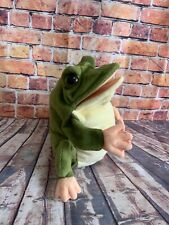 Beautiful frog Toad  hand puppet from the puppet company immaculate condition