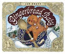 Gingerbread Baby by Jan Brett (2003, Board Book)