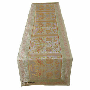 Vintage Wedding Table Runner Traditional Table Cover Lace Table Cloth Fabric