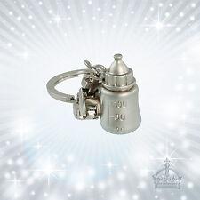 Babyflasche Schlüsselanhänger silberfarben *matt* Gilde 50909  Anhänger GI-SH-76