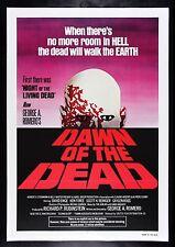 DAWN OF THE DEAD * CineMasterpieces 1978 ZOMBIE VINTAGE ORIGINAL MOVIE POSTER