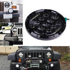 7'' Round LED Headlights Halo Angle Eyes Waterproof for Jeep Wrangler JK TJ
