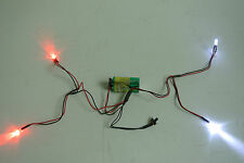 1/10 - 1/16  scale universal led light kit 2 sets  for LOSI, HPI, TAMIYA,