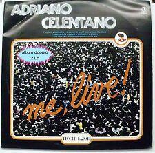 CELENTANO ADRIANO ME LIVE DOPPIO LP GATEFOLD MINT  1980 ITALY