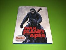 War For The Planet Of The Apes Blu-ray Dvd Set Like New