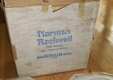 Set of 4 1976 Gorham Norman Rockwell Four Seasons Collector Plates New in Boxes