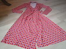 Jersey Midi Wrap Casual Dresses
