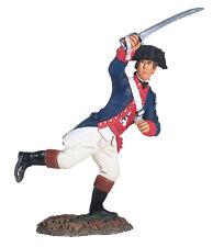 William De Grande-bretagne Américain Révolution Continental Ligne Officier