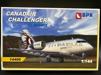BPK 1/144 Canadair Challenger CL604/605 (14406) - Four livery options!