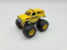 Vintage Matchbox Superchargers Maddog II Monster Truck Yellow Blazer Diecast