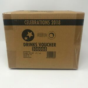 Party Drinks Voucher - Case of 24 (250 per pack)