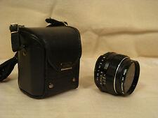 ASAHI Pentax Super Takumar 50mm f1.4 Lens, M42 Screw, Digital Adaptable., MINT