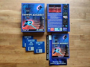Alien Breed Tower Assault  A Team 17 Game for The Amiga Tested&Working VGC