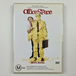 Office Space DVD - Ron Livingston, Stephen Root - Region 4 - TRACKED POST