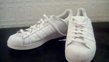Men's Adidas Superstar White Leather Trainers..Size 12