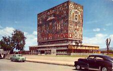 1955 CIUDAD UNIVERSITARIA DE MEXICO Mosaico Mural de Juan O'Gorman