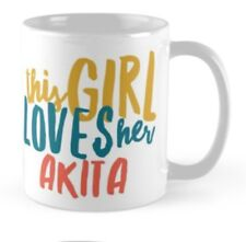 Japanese Akita mug, Ideal gift for Christmas