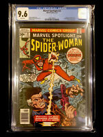 Marvel Spotlight #32 1st App. Spider-Woman /Jessica Drew CGC 9.6 NM+ White Pages