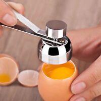 Stainless Steel Boiled Egg Topper Shell Cutter Egg Opener Kitchen Gadgets M3E4