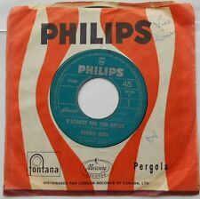 *RONNIE BIRD N'ecoute pas ton coeur CANADA ORIG 1967 JUKE BOX Philips FRENCH 45
