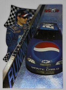 Jeff Gordon 1999 Wheels Runnin N' Gunnin Die Cut Insert Foil Parallel Card Pepsi