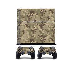 Camuflaje PS4 PlayStation 4 Cobertor vinilo/PLAYSTATION 4 PS4 Pegatina de