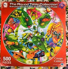 Creepy Critters Jigsaw Puzzle 500 Rainforest Animals Frogs Butterflies Complete
