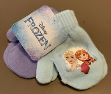 DISNEY FROZEN ELSA & ANNA 2-PACK MITTENS - GIRLS TODDLERS - ONE SIZE - NWT