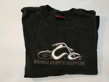 OCC ORANGE COUNTY CHOPPERS Mens T-Shirt Size L Old School New Rules