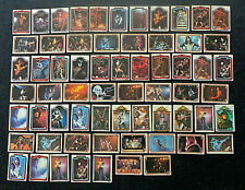 KISS - 1978 /80 Donruss Aucoin - 64 x Assorted Trading Cards