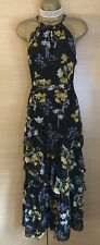Exquisite Karen Millen Brand New Floral Tiered Maxi Dress UK14 Stunning