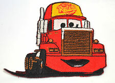 CARS MACK HAULER TRUCK Embroidered Iron Sew On Cloth Patch Badge  APPLIQUE
