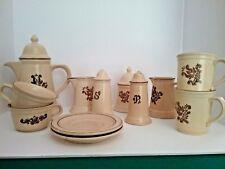 Set of 12 Pieces of Vintage PFALTZGRAFF Village Dinnerware