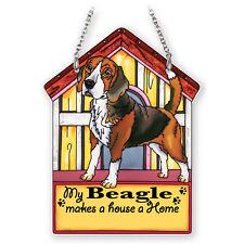Beagle Doghouse Suncatcher