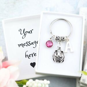 Guinea Pig Keyring, Personalised Gift, Pet Loss Keepsake, Cute Gifts For Owners