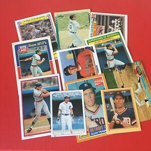 Alan Trammell 12 card lot #A