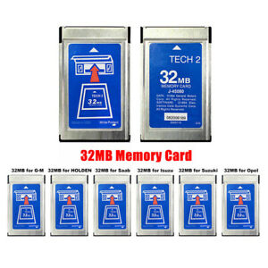 Card For GM TECH2 32MB GM OPEL SAAB ISUZU SUZUKI Holden With Latest Software US