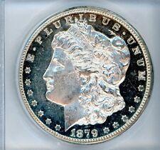 1879-CC Morgan Silver Dollar CERTIFIED ICG MS63 CARSON CITY DEEP GEM PROOF LIKE