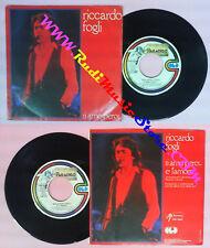 LP 45 7'' RICCARDO FOGLI Ti amo pero'E' amore 1980 italy PARADISO no cd mc dvd*