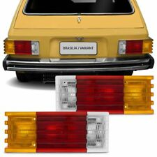 VW Brasilia Variant Complete Rear Tail Light Assembly 1pc Amber Orange Red White